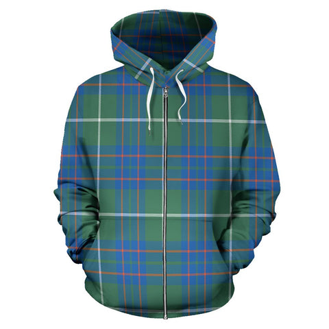 Image of MacIntyre Hunting Ancient Tartan All Over Zip Hoodie