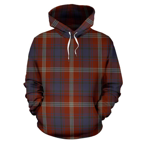 Image of Ainslie Tartan All Over Print Hoodie