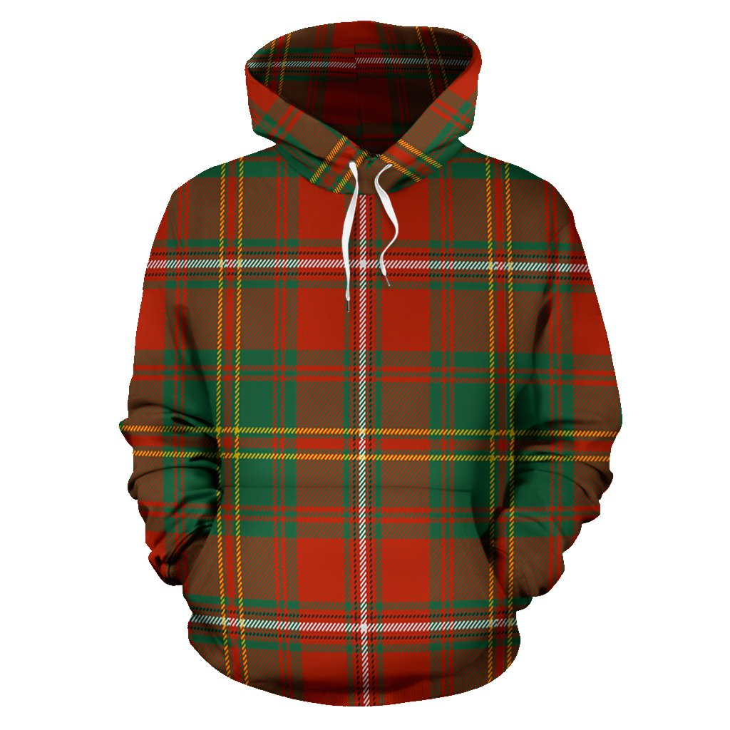 Hay Ancient Tartan All Over Print Hoodie