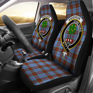 Anderson  Clan Badge Tartan Car Seat Cover