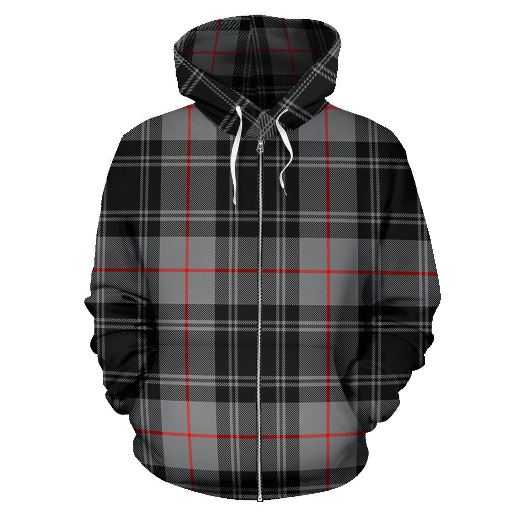 Moffat Modern Tartan All Over Zip Hoodie