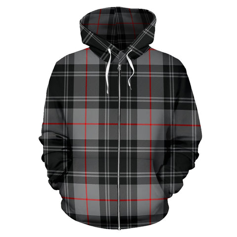 Image of Moffat Modern Tartan All Over Zip Hoodie