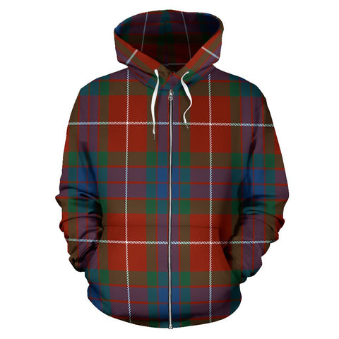 Fraser Ancient Tartan All Over Zip Hoodie