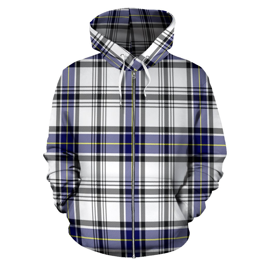 Hannay Tartan All Over Zip Hoodie