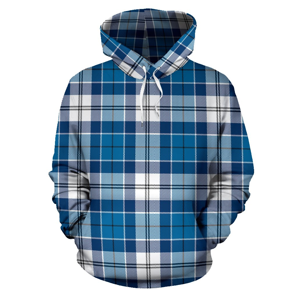 Strathclyde District Tartan All Over Print Hoodie