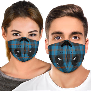 Angus Ancient Tartan Premium Face Mask H01