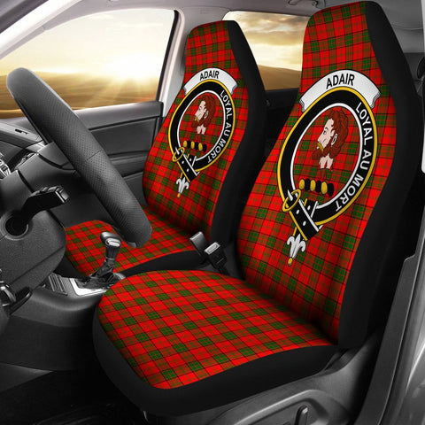 Image of Adair Clan Badge Tartan Car Seat Cover