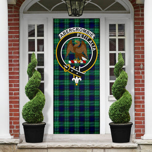 Abercrombie Clan Badge Tartan Door Sock H01