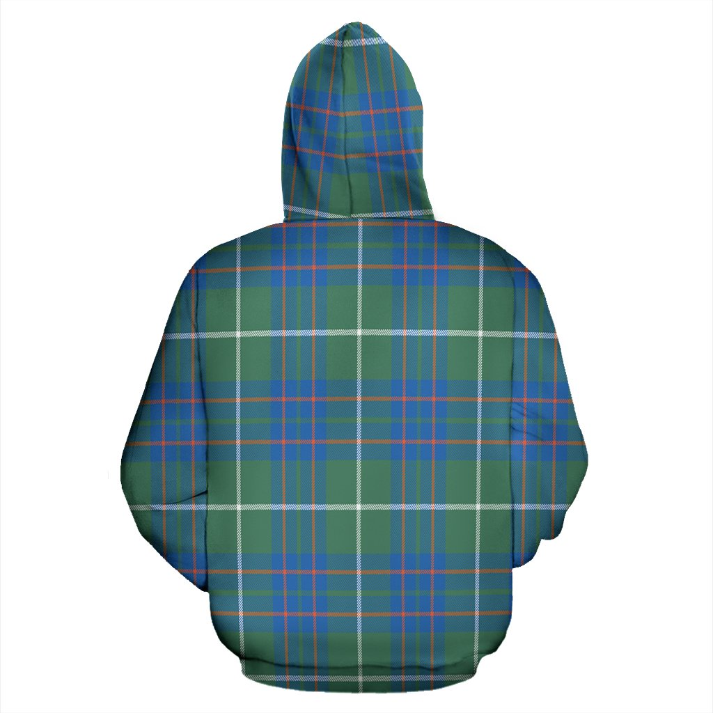 MacIntyre Hunting Ancient Tartan All Over Zip Hoodie