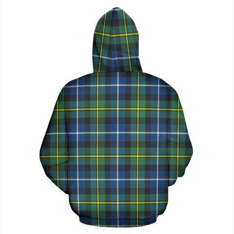 Image of MacNeill of Barra Ancient Tartan All Over Print Hoodie