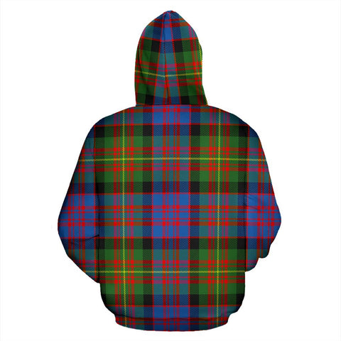 Image of Carnegie Ancient Tartan All Over Print Hoodie