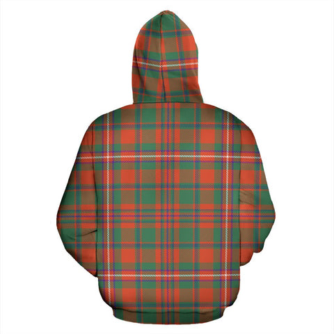 Image of MacKinnon Ancient Tartan All Over Print Hoodie