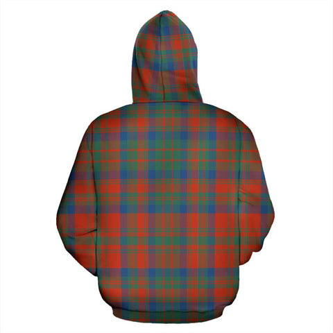 Image of Matheson Ancient Tartan All Over Zip Hoodie
