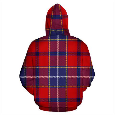 Image of Wishart Dress Tartan All Over Zip Hoodie