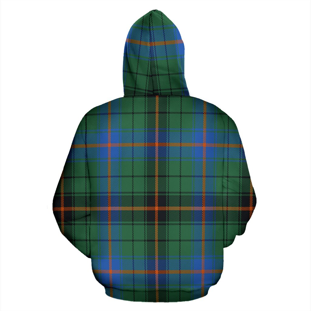 Davidson Ancient Tartan All Over Print Hoodie