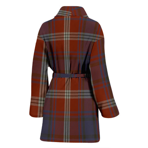 Ainslie Tartan Women's Bathrobe H01