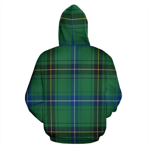 Image of Henderson Ancient Tartan All Over Print Hoodie