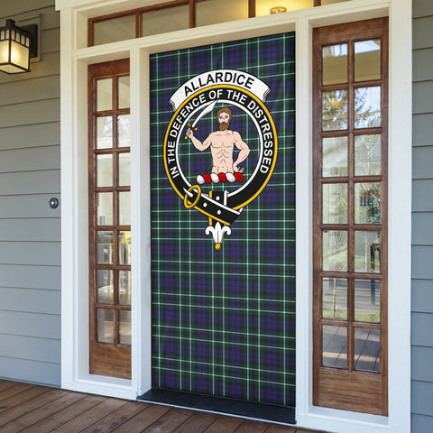 Allardice Clan Badge Tartan Door Sock H01