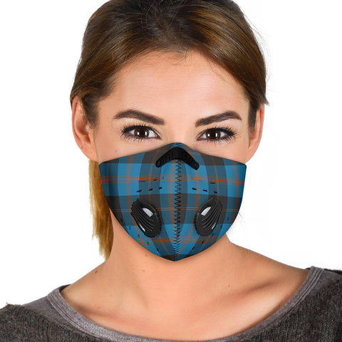 Image of Angus Ancient Tartan Premium Face Mask H01