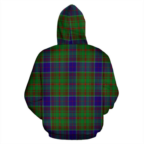 Image of adam Tartan All Over Print Hoodie