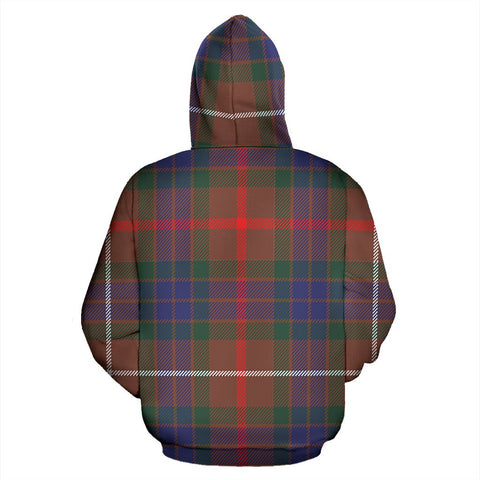 Image of Fraser Hunting Modern Tartan All Over Zip Hoodie
