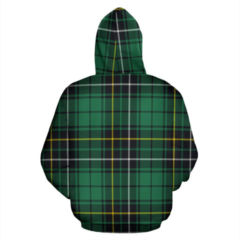 Image of MacAlpine Ancient Tartan All Over Print Hoodie