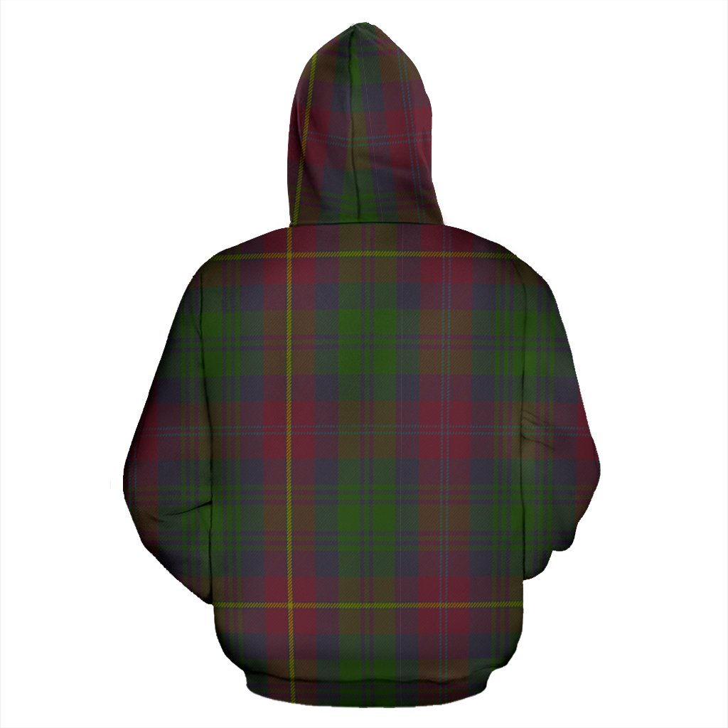 Cairns Tartan All Over Print Hoodie