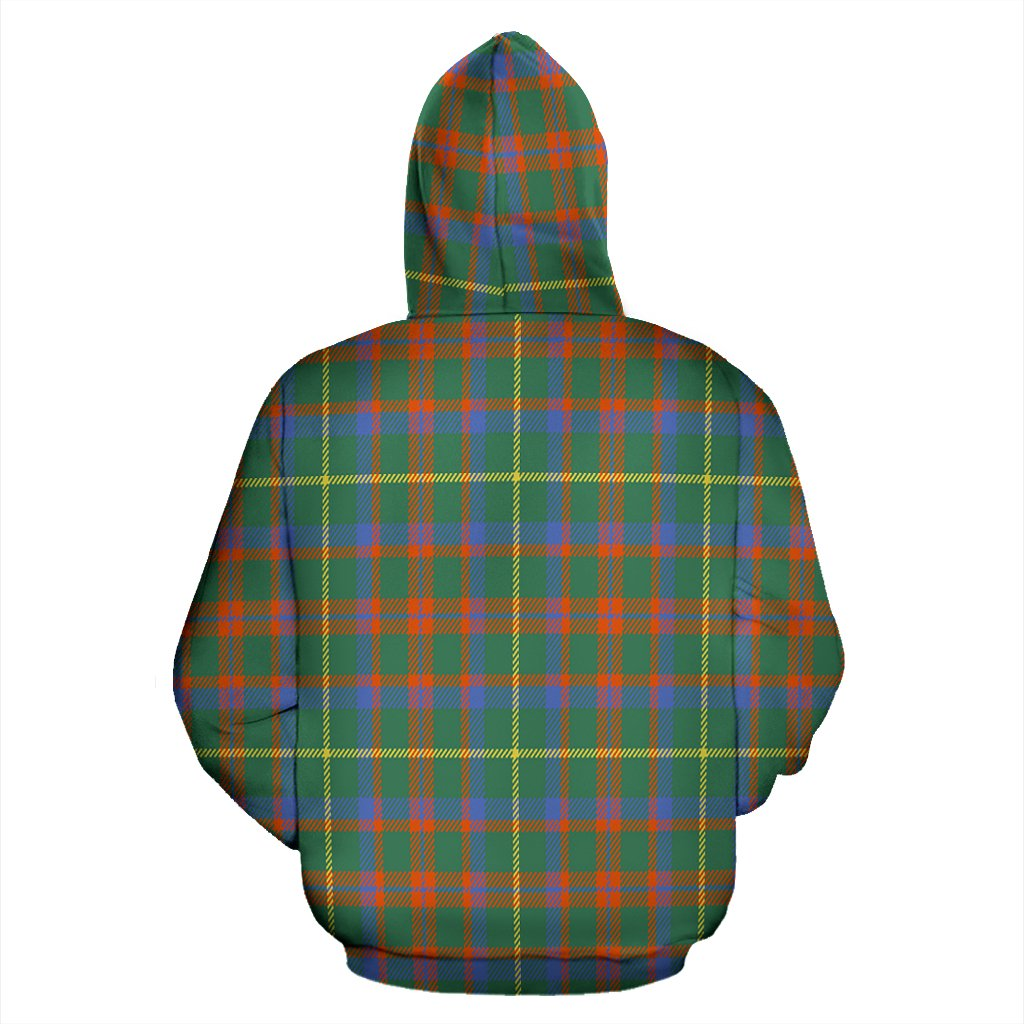 MacKintosh Hunting Ancient Tartan All Over Zip Hoodie