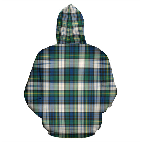 Gordon Dress Ancient Tartan All Over Zip Hoodie H01