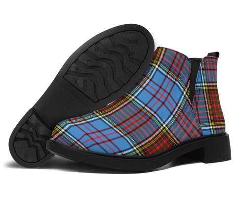 Image of Anderson Modern Tartan Fashion Boots H01