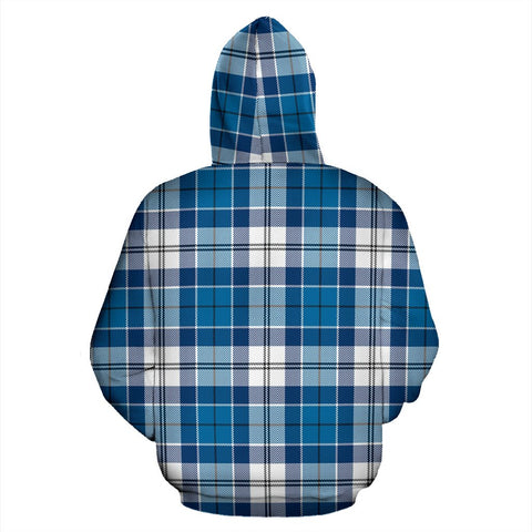 Image of Strathclyde District Tartan All Over Print Hoodie