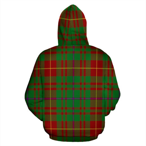 Image of Fulton Tartan All Over Zip Hoodie