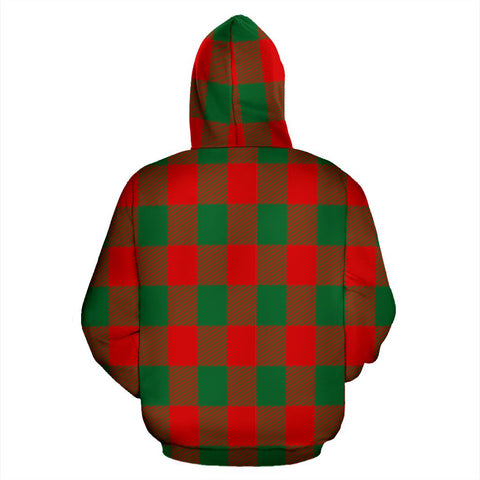 Image of Moncrieffe Tartan All Over Zip Hoodie