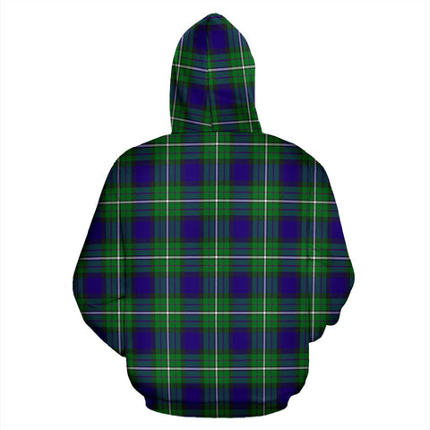 Alexander Tartan All Over Print Hoodie