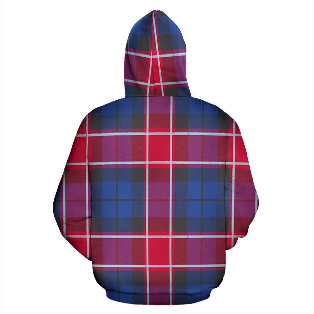 Graham of Menteith Red Tartan All Over Zip Hoodie
