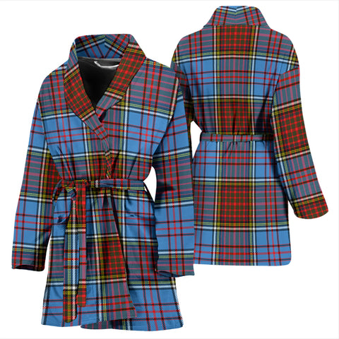 Image of Anderson Modern Tartan Women's Bathrobe H01