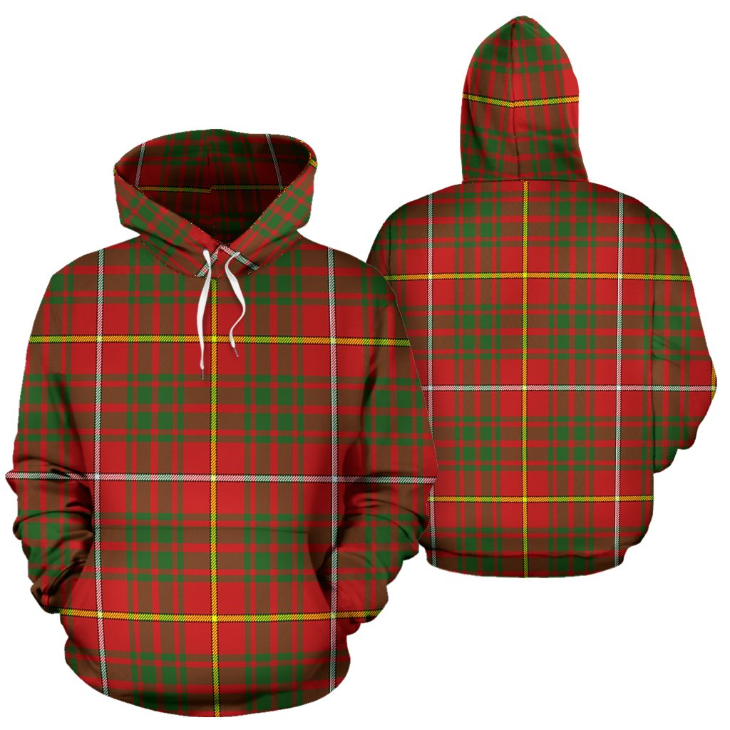 Bruce Modern Tartan All Over Print Hoodie
