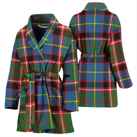 Image of Aikenhead Tartan Women's Bathrobe H01