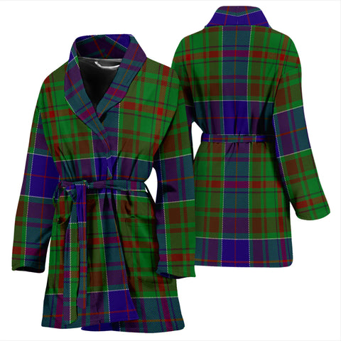 Adam Tartan Women's Bathrobe H01