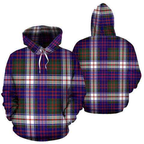 Image of MacDonald Dress Modern Tartan All Over Print Hoodie
