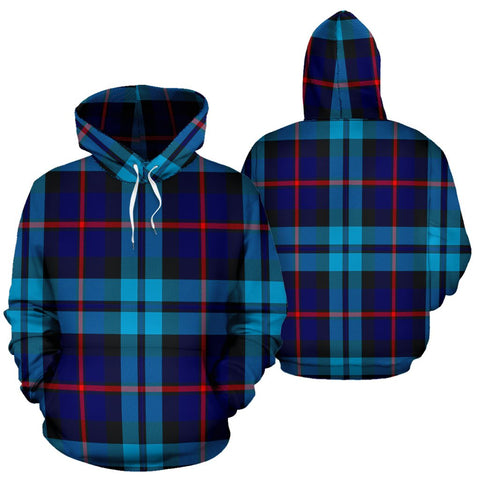 Image of McCorquodale Tartan All Over Print Hoodie