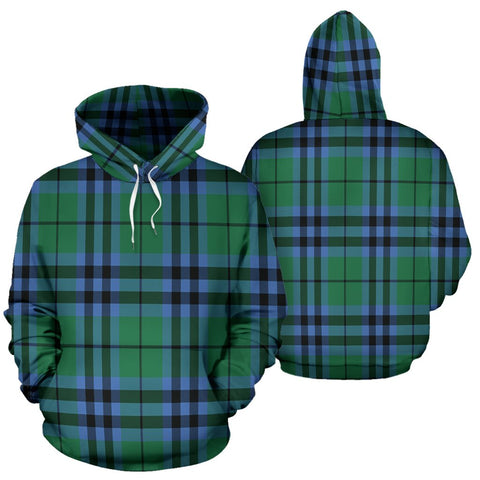 Image of Keith Ancient Tartan All Over Print Hoodie