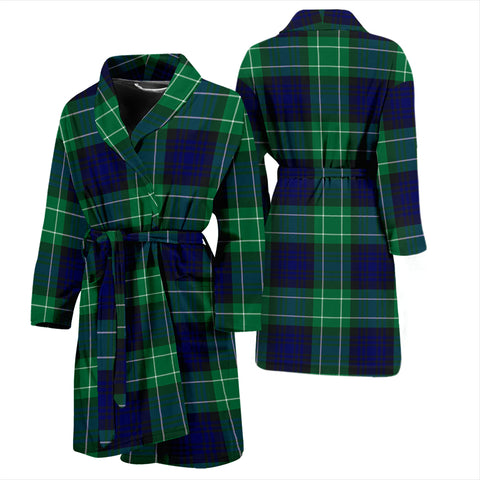 Abercrombie Tartan Bathrobe - Men's H01