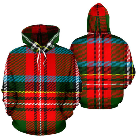 Image of Stewart Royal Modern Tartan All Over Print Hoodie