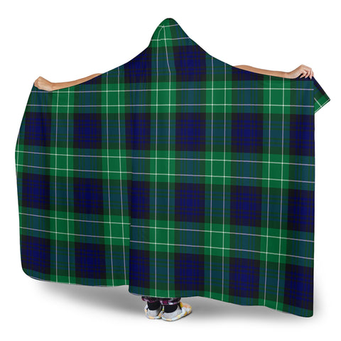 Image of Abercrombie Tartan Hooded Blanket H01