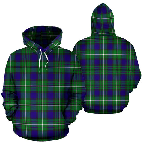 Image of Alexander Tartan All Over Print Hoodie