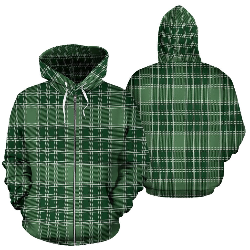 MacDonald Lord of the Isles Hunting Tartan All Over Zip Hoodie