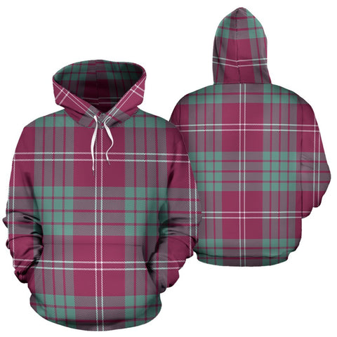Image of Crawford Ancient Tartan All Over Print Hoodie