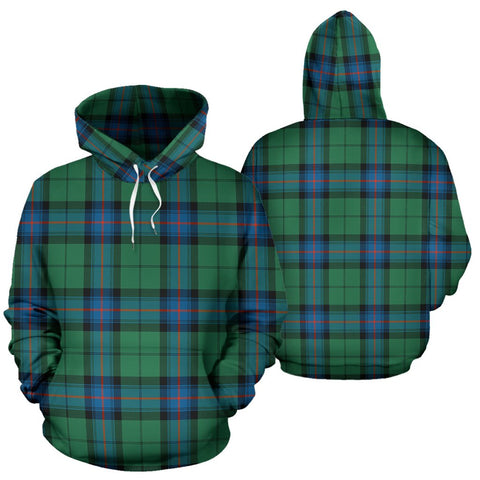 Image of Armstrong Ancient Tartan All Over Print Hoodie