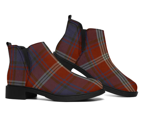 Image of Ainslie Tartan Fashion Boots H01